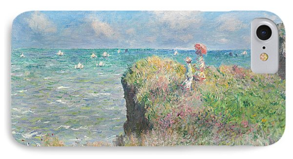 Cliff Walk At Pourville IPhone Case