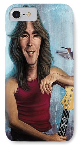 Cliff Williams IPhone Case by Andre Koekemoer