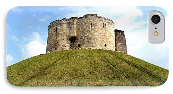 IPhone Case featuring the photograph Clifford's Tower York by Scott Lyons