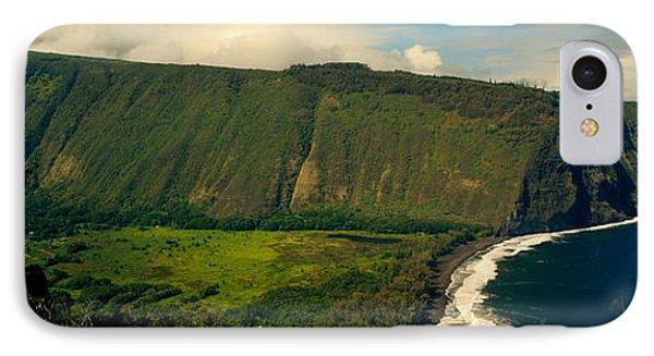 Cliffs In The Sea, Waipio Valley, Big IPhone Case