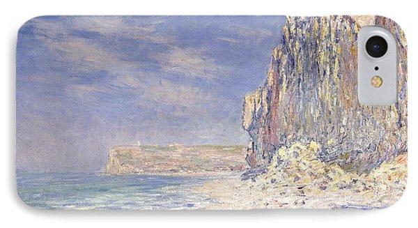 Cliffs Near Fecamp Phone Case by Claude Monet