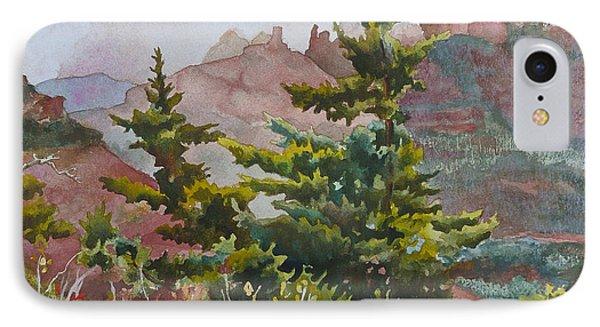 Cliffs Near Sedona IPhone Case by Anne Gifford