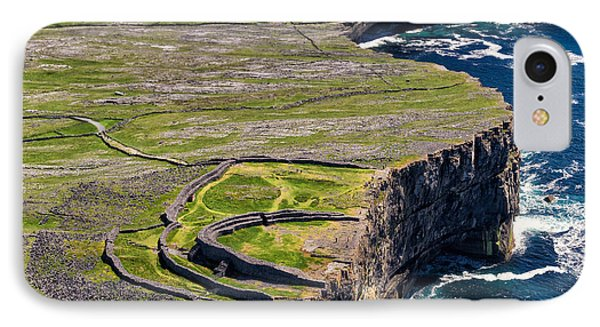 Cliffs Of Inishmoore Phone Case by Juergen Klust