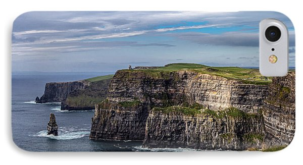 IPhone Case featuring the photograph Cliffs Of Moher I by Juergen Klust