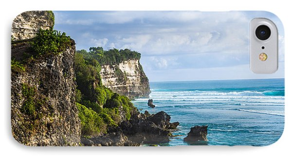 Cliffs On The Indonesian Coastline IPhone Case