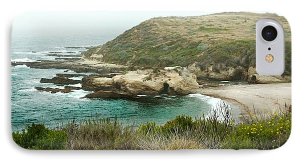 Cliffs Over Montana De Oro California Phone Case by Artist and Photographer Laura Wrede