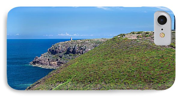 Cliffs With Two Lighthouses IPhone Case