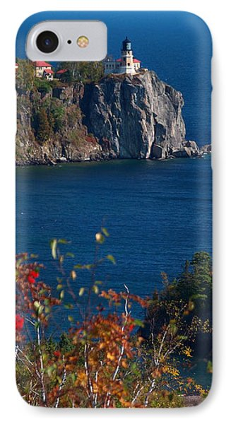 Cliffside Scenic Vista IPhone Case by James Peterson