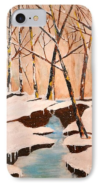 Cliffy Creek IPhone Case