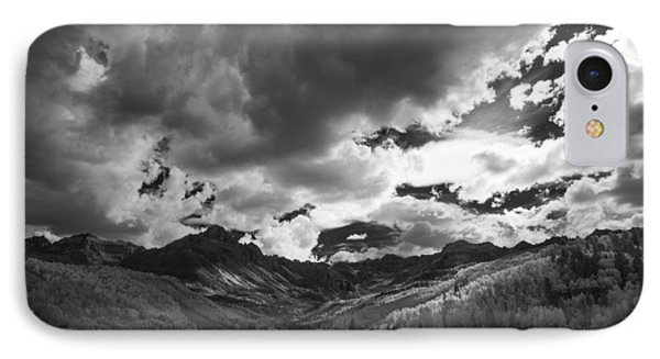 Climb The Clouds IPhone Case by Jon Glaser