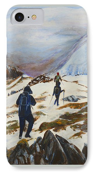 Climbers - Painting IPhone Case