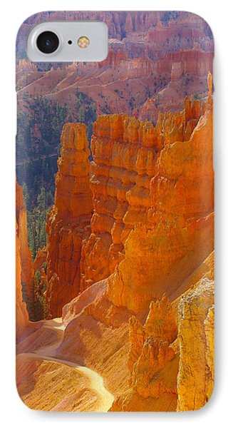 climbing out of the Canyon IPhone Case