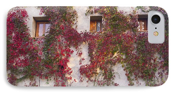 Climbing Plants On The Facade IPhone Case by Gina Dsgn