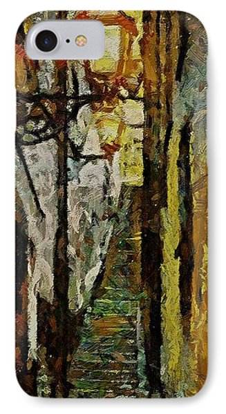 Climbing Stairs Of Paris Phone Case by Dragica  Micki Fortuna