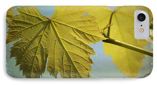 Clinging To The Vine Phone Case by Fraida Gutovich