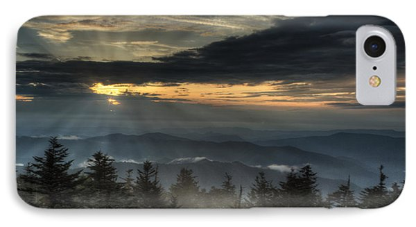 Clingman's Dome Sunset IPhone Case by Coby Cooper