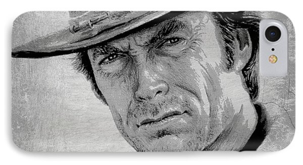 Clint Eastwood IPhone Case by Andrew Read