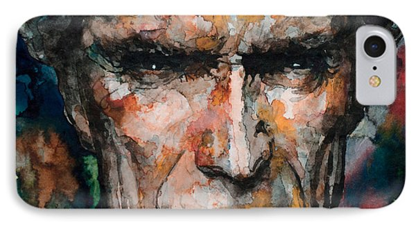 Clint Eastwood IPhone Case by Laur Iduc