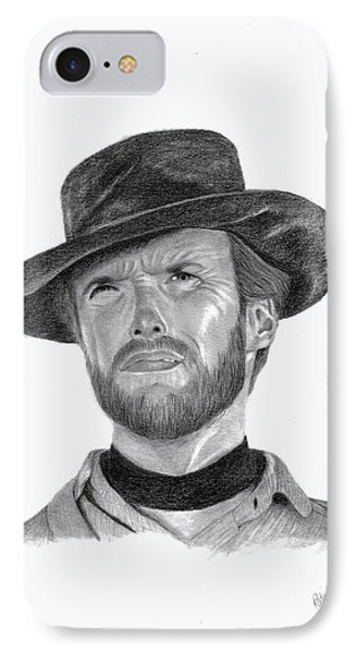Clint Eastwood Phone Case by Patricia Hiltz