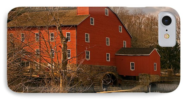 IPhone Case featuring the photograph Clinton Mill by Robert Pilkington