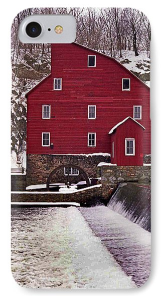 Clinton Mill IPhone Case by Skip Willits