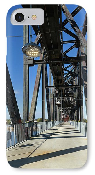 Clinton Presidential Park Bridge IPhone Case by Panoramic Images