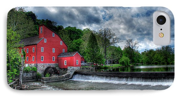 Clinton Red Mill House Phone Case by Lee Dos Santos