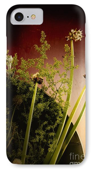 Clipped Stems Phone Case by Margie Hurwich