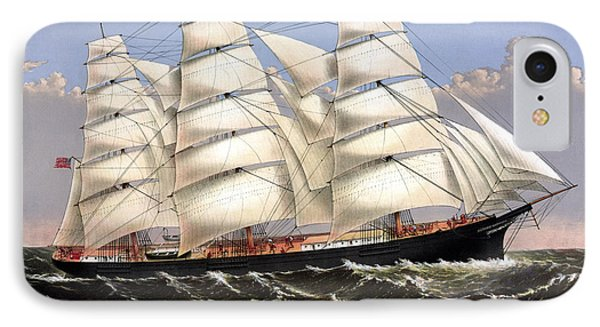 Clipper Ship Three Brothers Phone Case by War Is Hell Store
