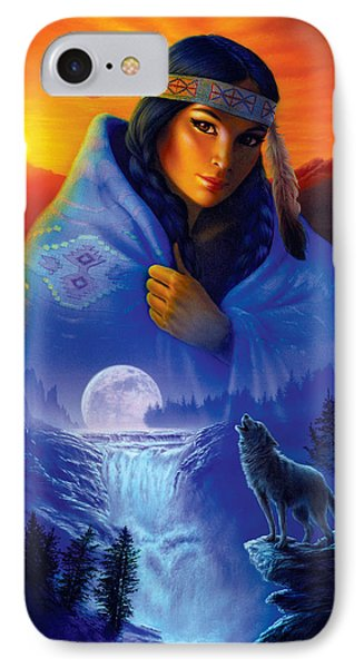 Cloak Of Visions Portrait IPhone Case by Andrew Farley