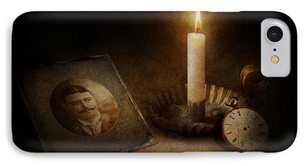 Clock - Memories Eternal Phone Case by Mike Savad