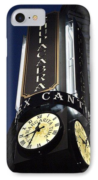 Clock Sign Chupacabra Cantina IPhone Case
