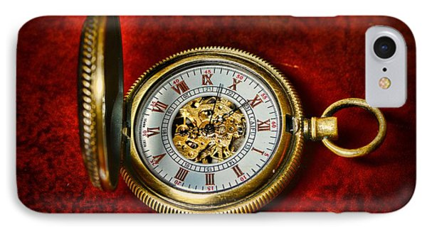 Clock - The Pocket Watch Phone Case by Paul Ward