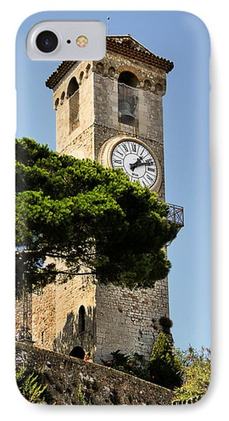 Clock Tower - Cannes - France Phone Case by Christine Till