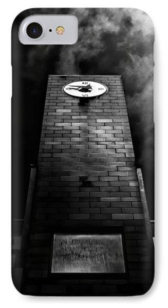 Clock Tower No 110 Davenport Rd Toronto Canada IPhone Case by Brian Carson