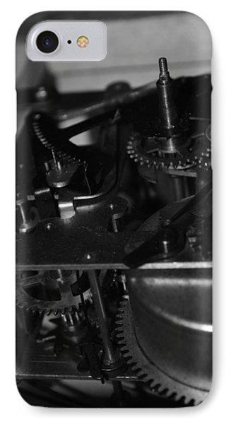 Clocks Black And White IPhone Case