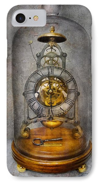 Clocksmith - The Time Capsule Phone Case by Mike Savad