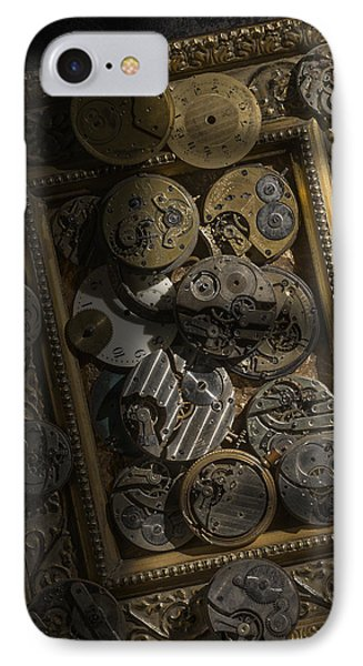 Clockwerx Phone Case by Ron Schwager