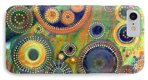 Clockwork Garden IPhone Case by Barbara Moignard