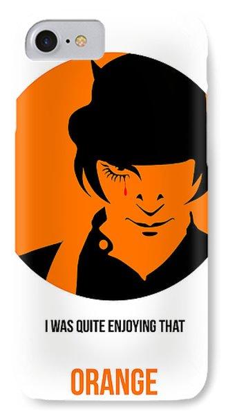 Clockwork Orange Poster 1 IPhone Case by Naxart Studio