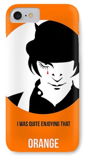 Clockwork Orange Poster 2 IPhone Case by Naxart Studio