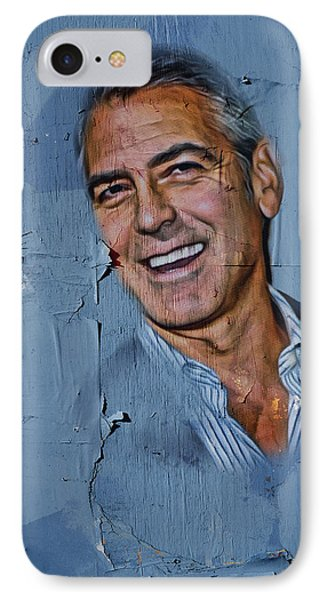 Clooney On Board IPhone Case by Yury Malkov