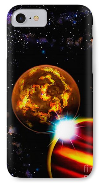 Close Together Far Apart IPhone Case by Naomi Burgess