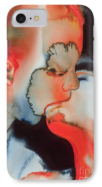 Close Up Kiss Phone Case by Graham Dean