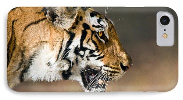 Close-up Of A Bengal Tiger Panthera IPhone Case