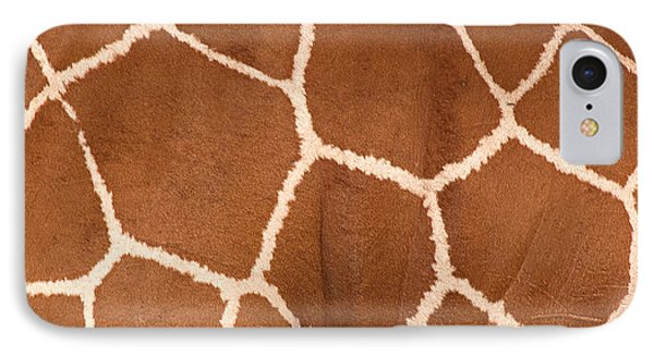 Close-up Of A Reticulated Giraffe IPhone Case by Panoramic Images