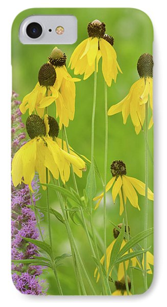 Close-up Of Flowers Blooming IPhone Case by Panoramic Images