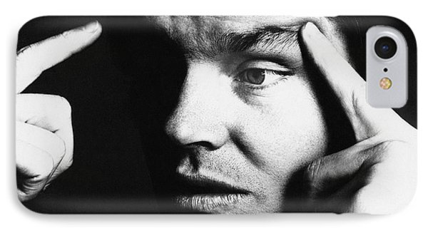 Close Up Of Jack Nicholson IPhone 7 Case by Jack Robinson