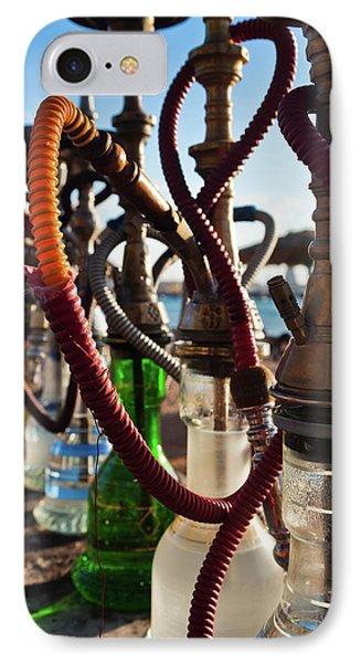 Close-up Of Shisha Water Pipes On Aqaba IPhone Case