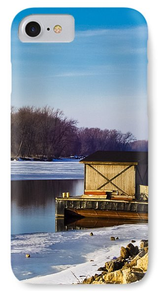 Closed For The Season Phone Case by Christi Kraft